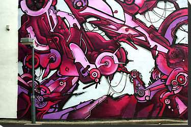 Street Abstract Graffiti Art | Facebook Cover for Timeline